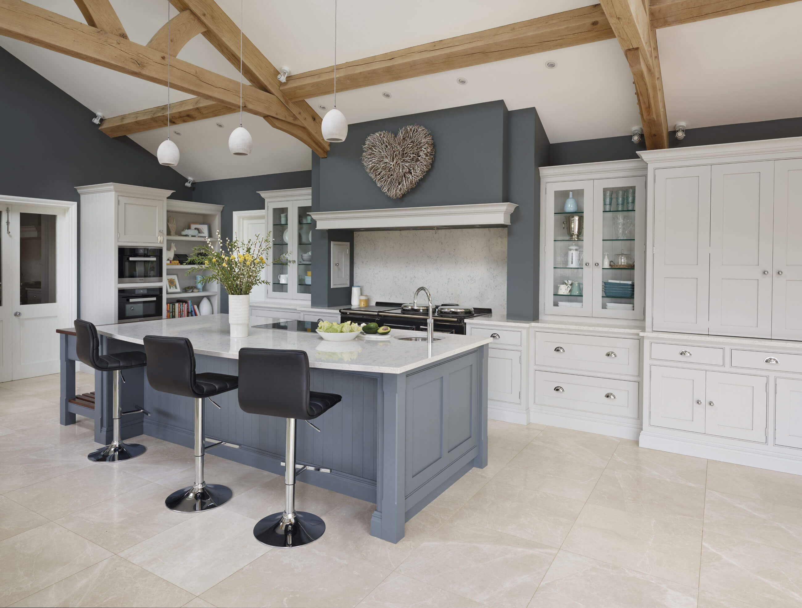 Most admired is our stunning grey family kitchen. This spacious kitchen design is all about being able to cook entertain and spend time together as a ... & Monthly Inspiration - Our Top Pinned Images | Tom Howley