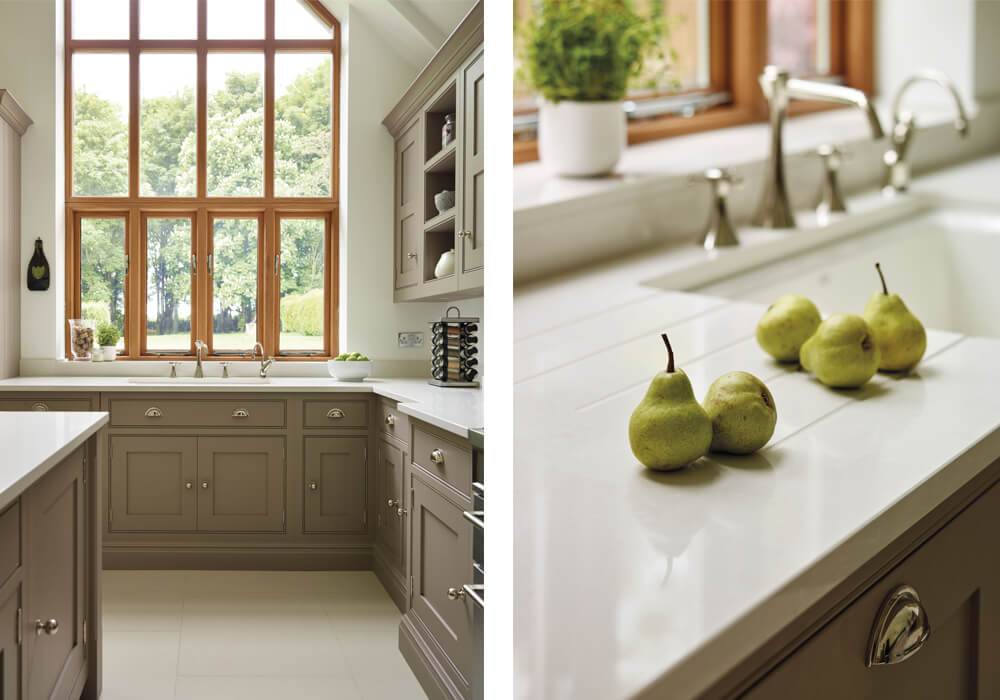 quartz kitchen worktop