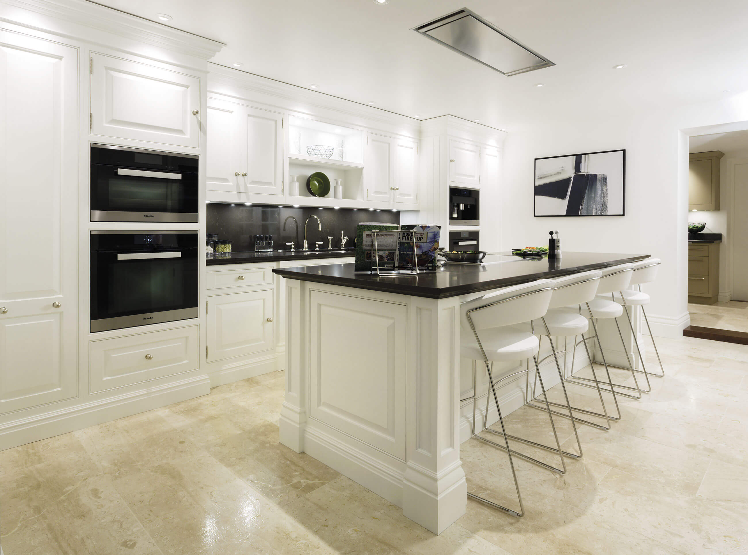 Classic White Kitchen Tom Howley