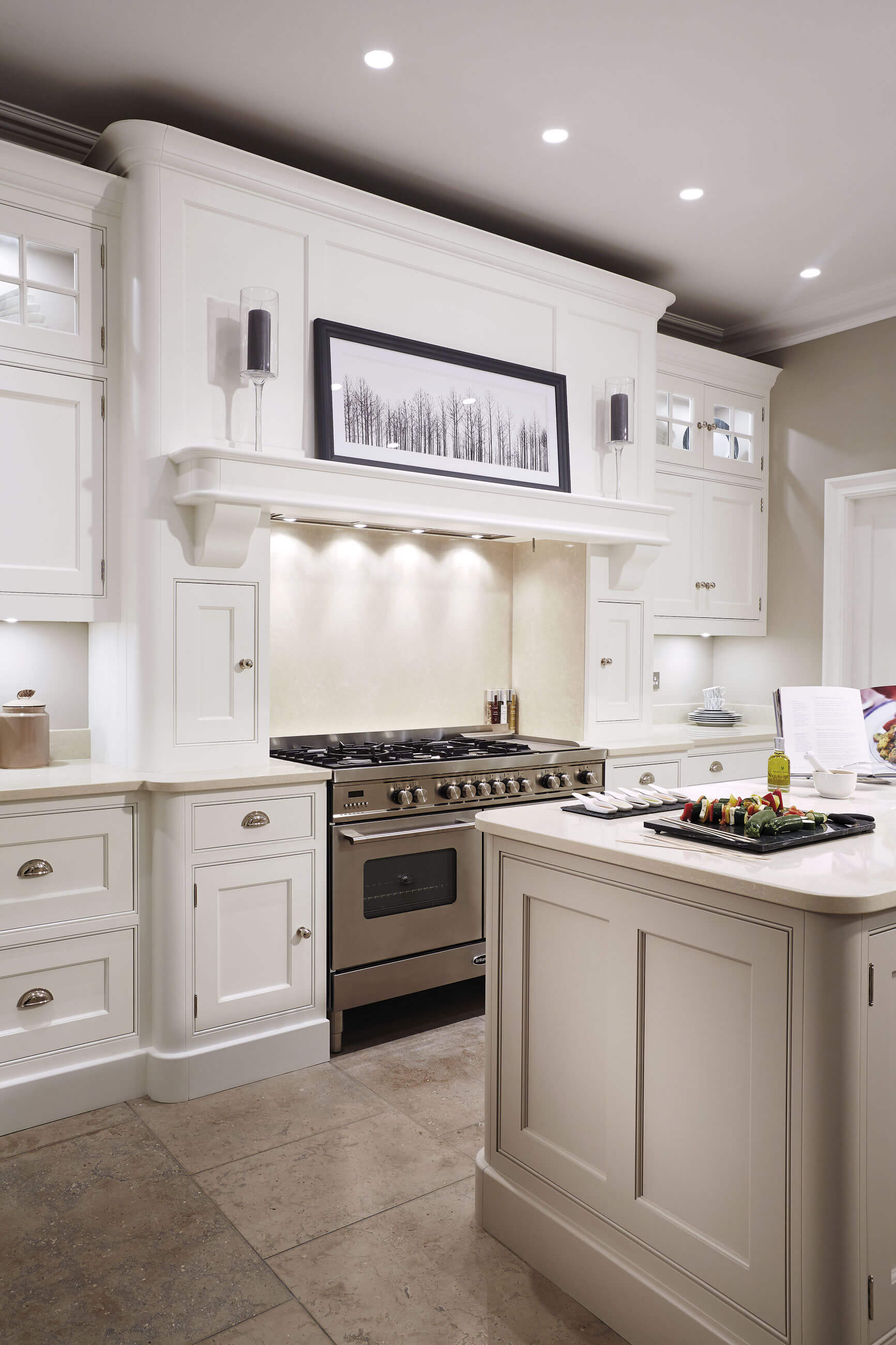 Amazing Cream Painted Kitchen Tom Howley Home Interior And Landscaping Transignezvosmurscom