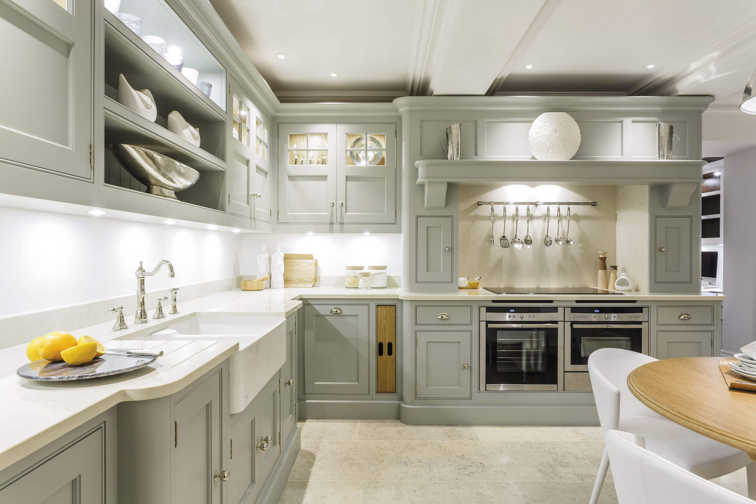Exquisite Chicory Painted Kitchen | Tom Howley