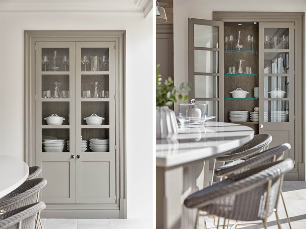 Glass Cabinets Pantry