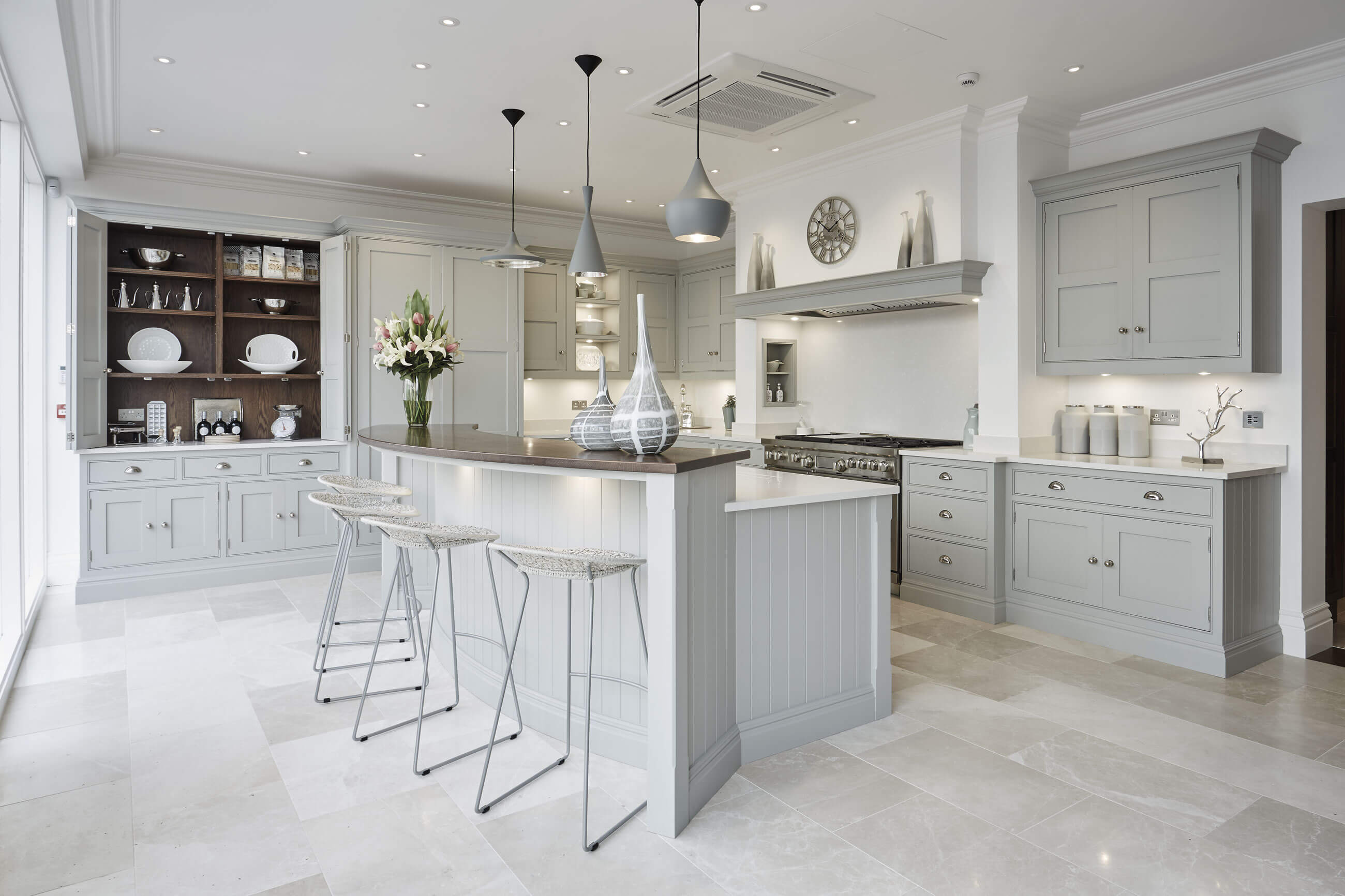 Grey Family Kitchen Tom Howley