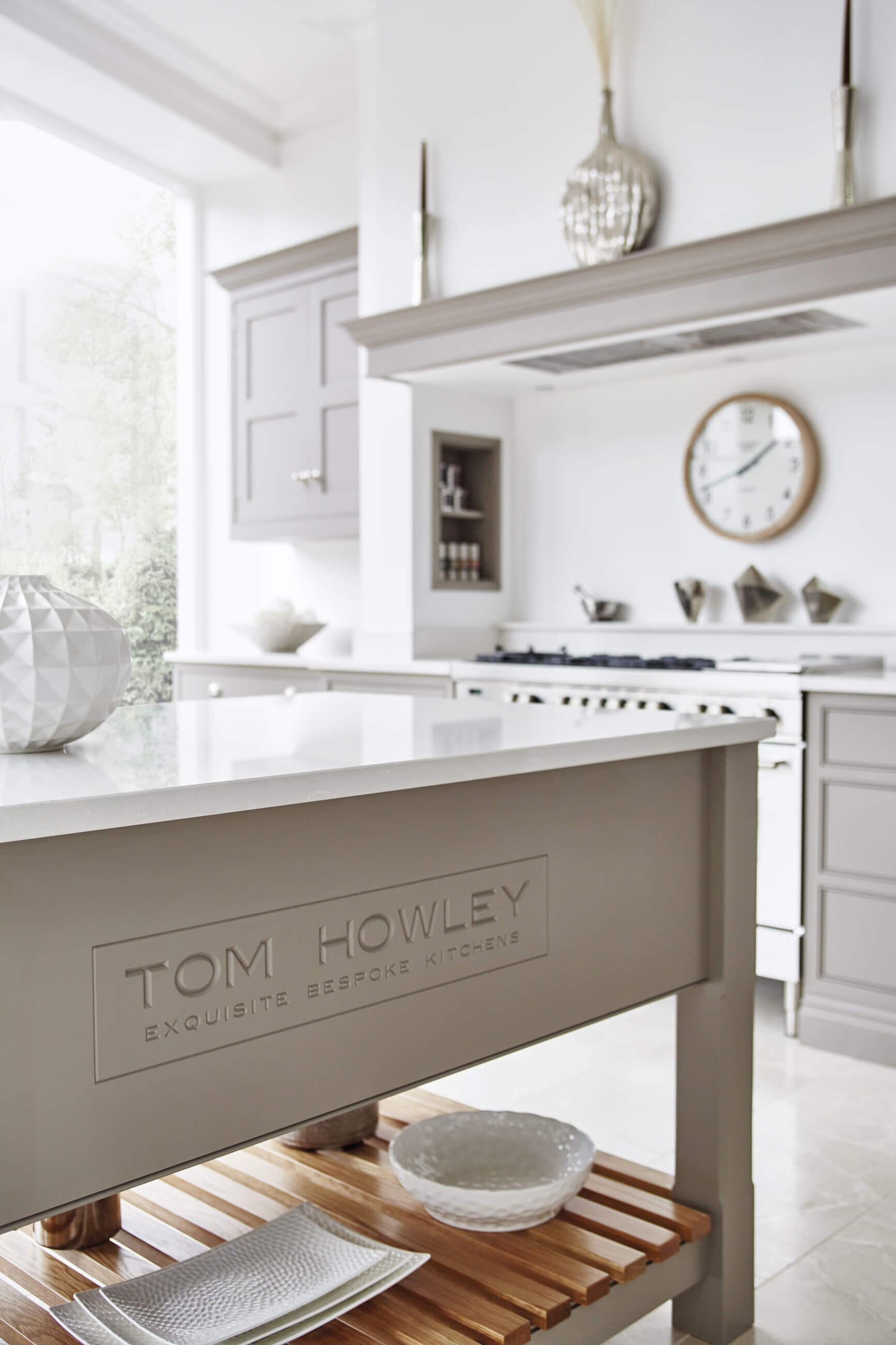 Grey and White Kitchen | Tom Howley