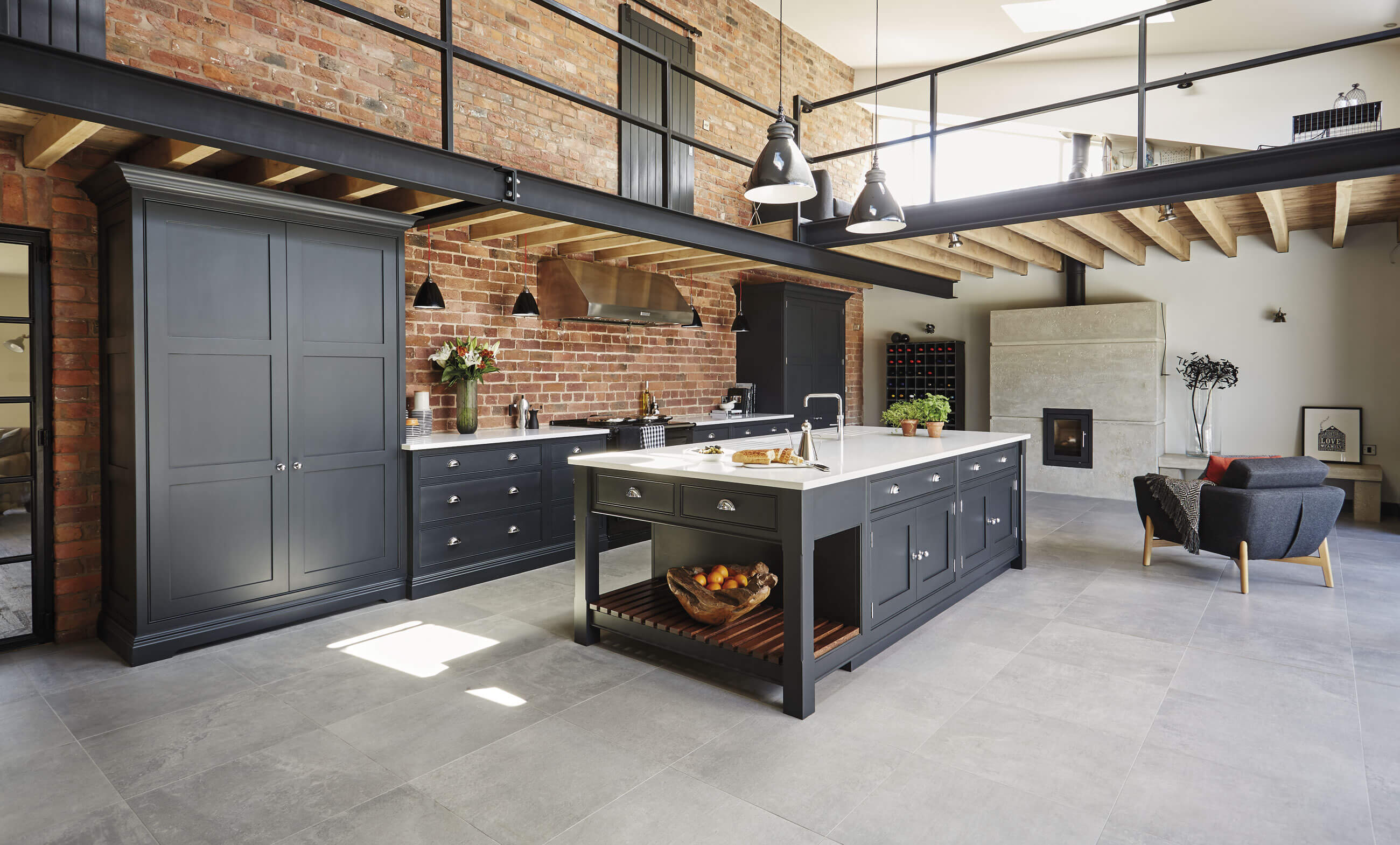 Exceptionnel Scroll For More. Scroll Down. Home U003e Kitchens U003e Industrial Style Shaker  Kitchen