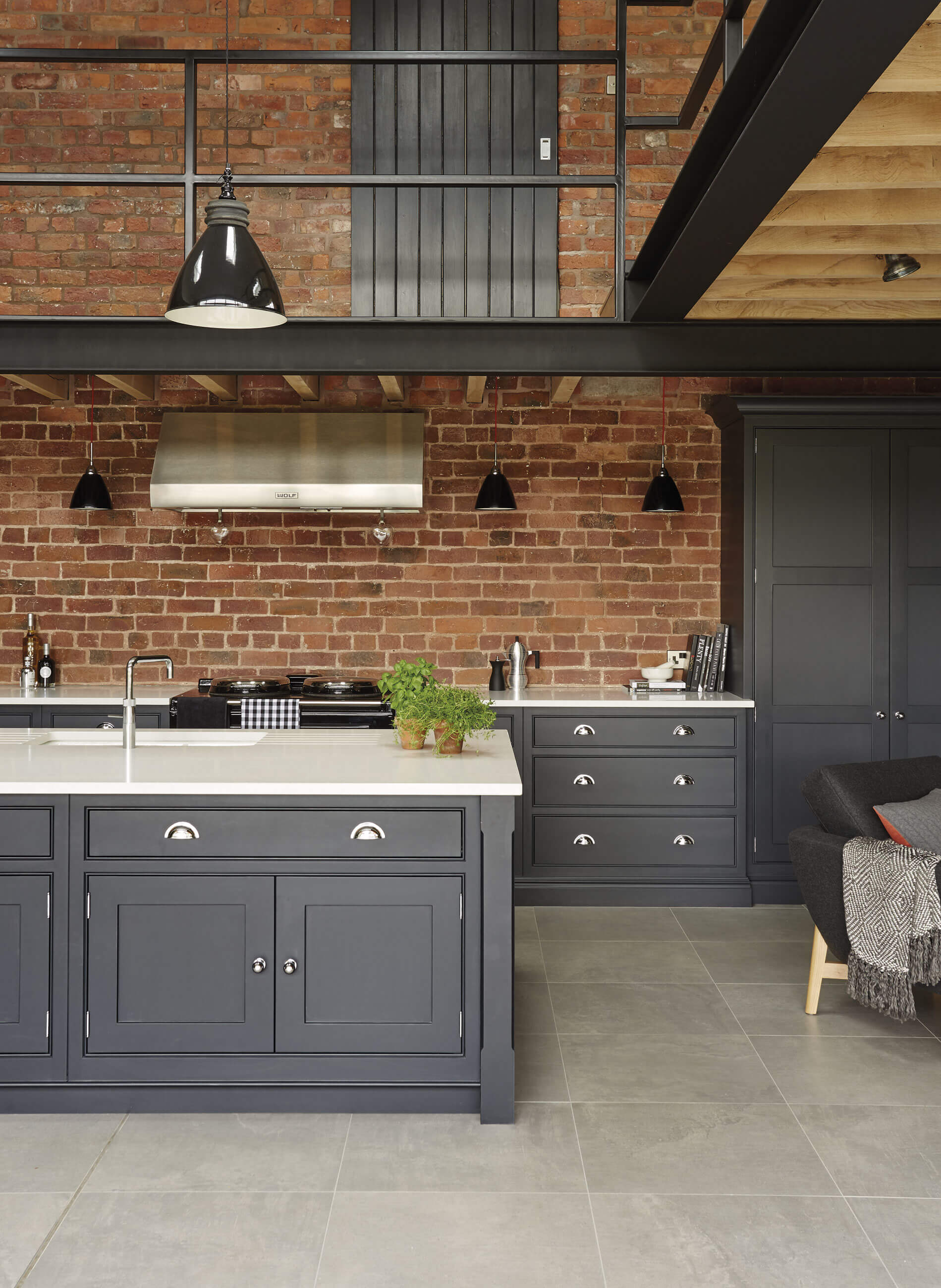 Industrial Style Kitchen | Tom Howley
