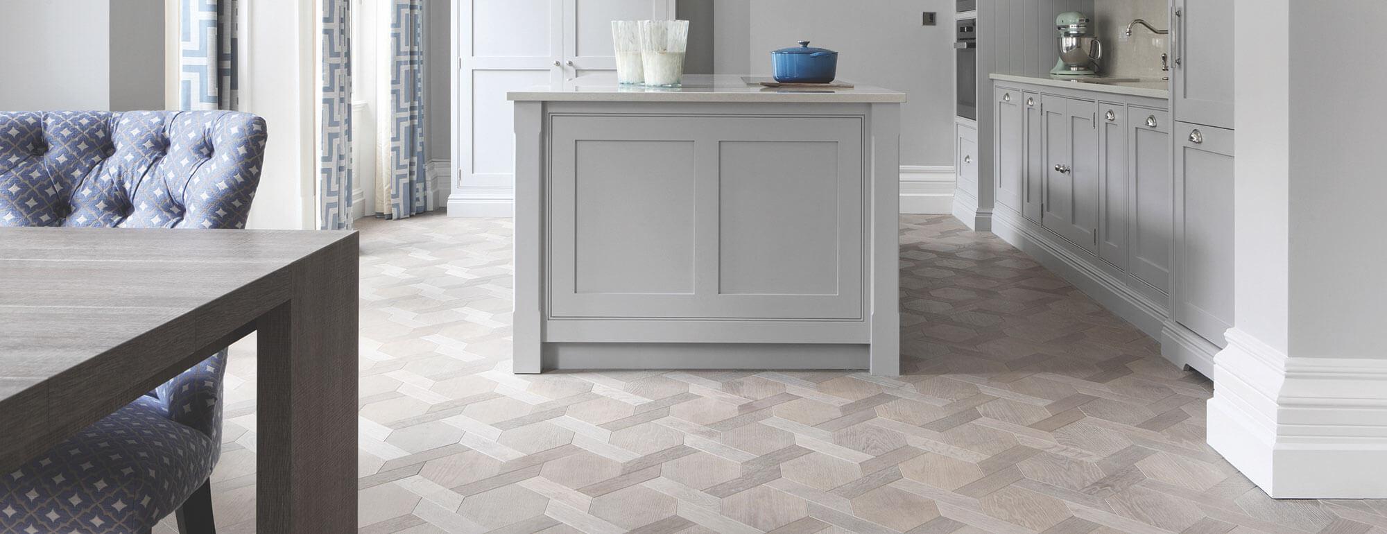 Stylish yet Practical Kitchen Flooring Ideas