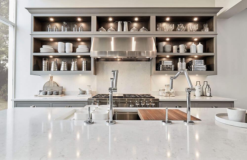 open kitchen shelving 1