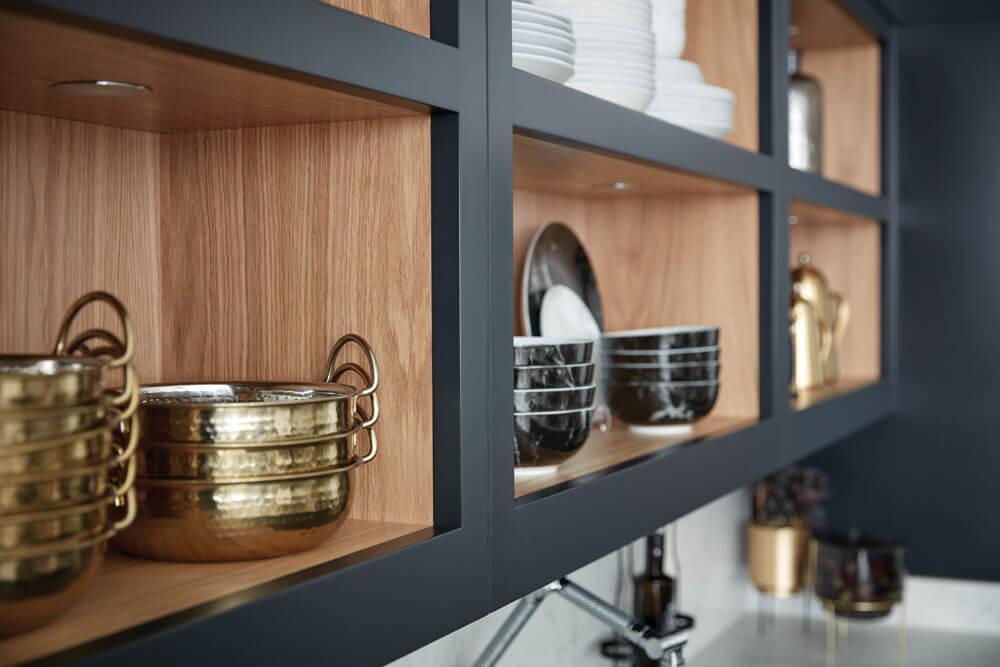 Dare To Bare All With Open Kitchen Shelving