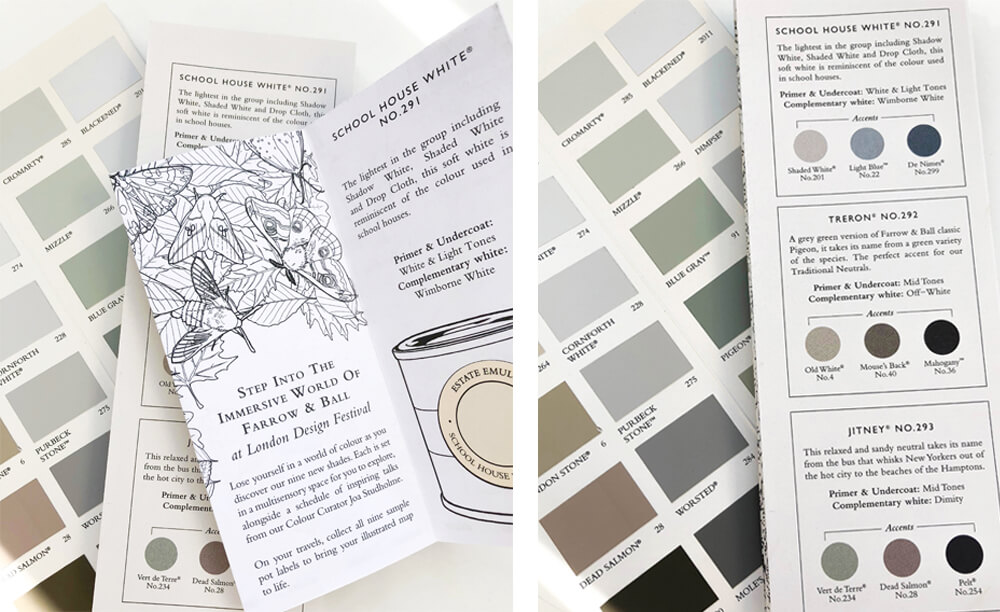 London Design Festival Farrow & Ball