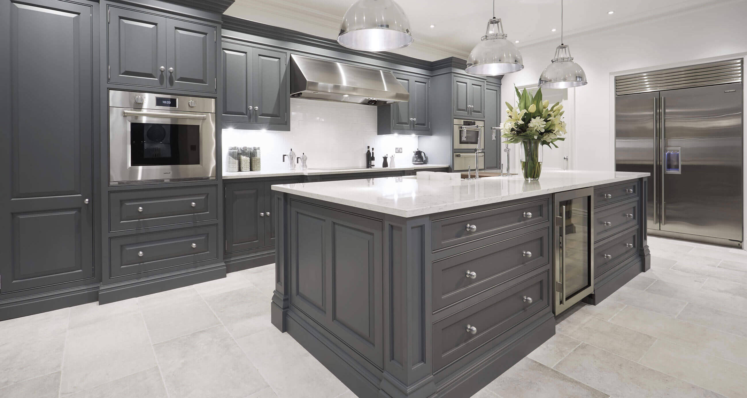 Luxury Grey Kitchen Tom Howley