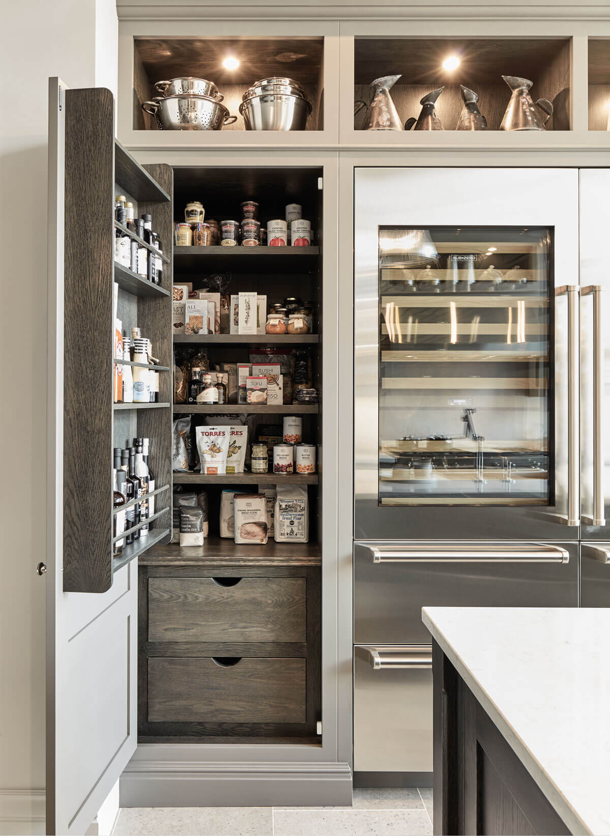 Pantry Cupboards | Kitchen Larder Cupboard | Tom Howley