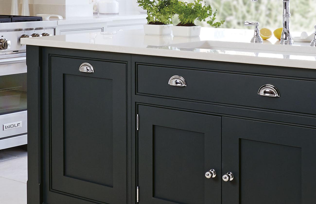 Black Shaker Kitchen Luxury Kitchens Tom Howley
