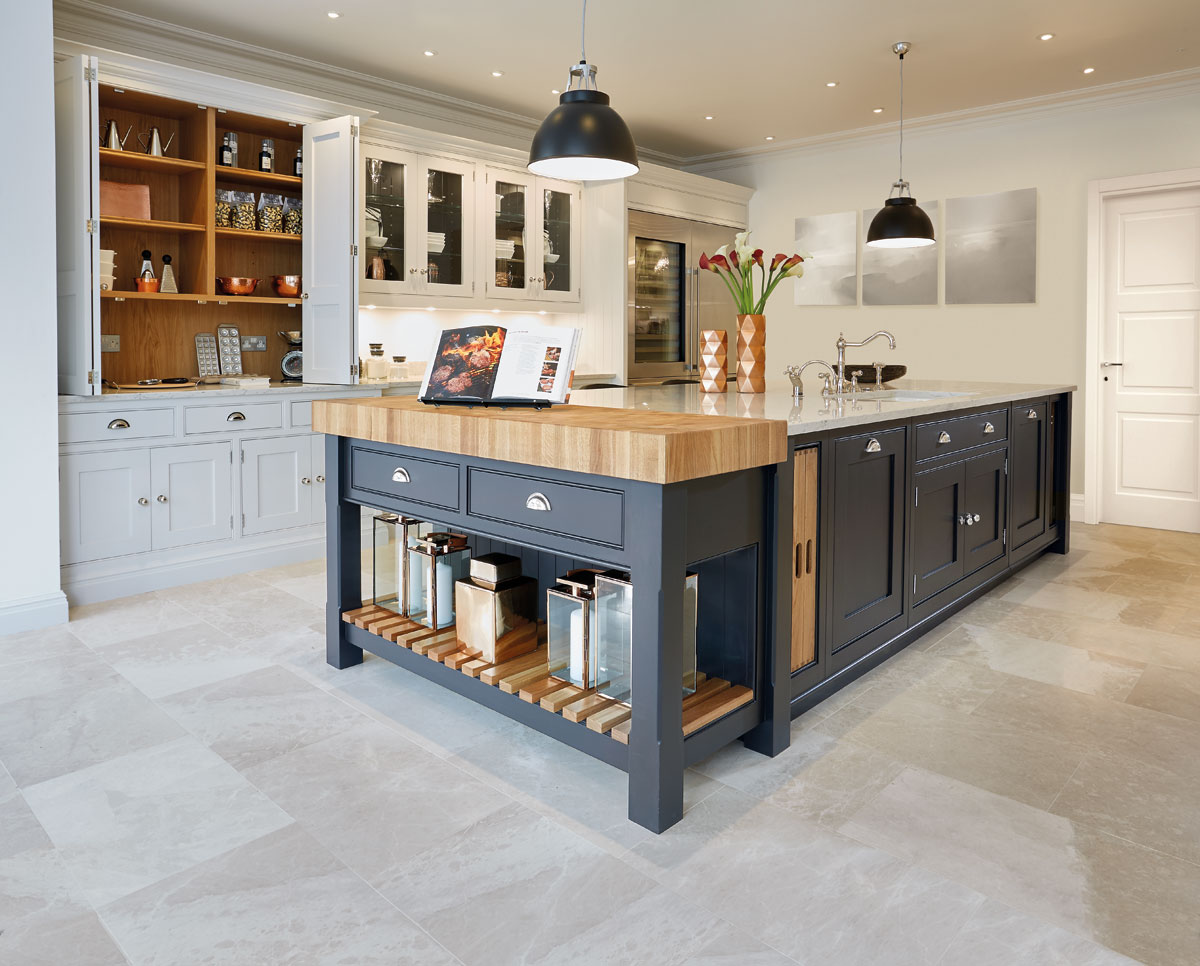 Cream And Oak Kitchen Tom Howley