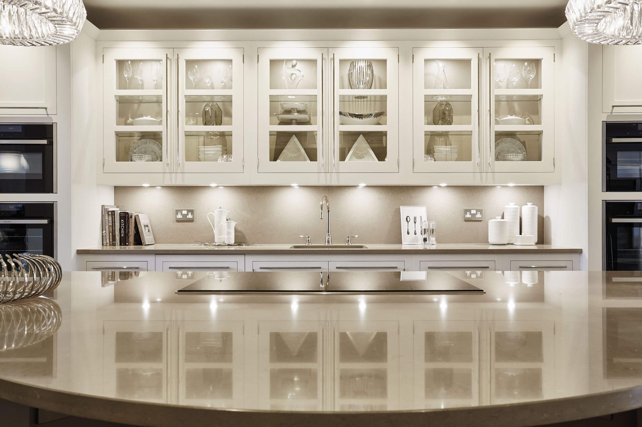Cream and white kitchen tom howley for Perfect kitchen harrogate menu