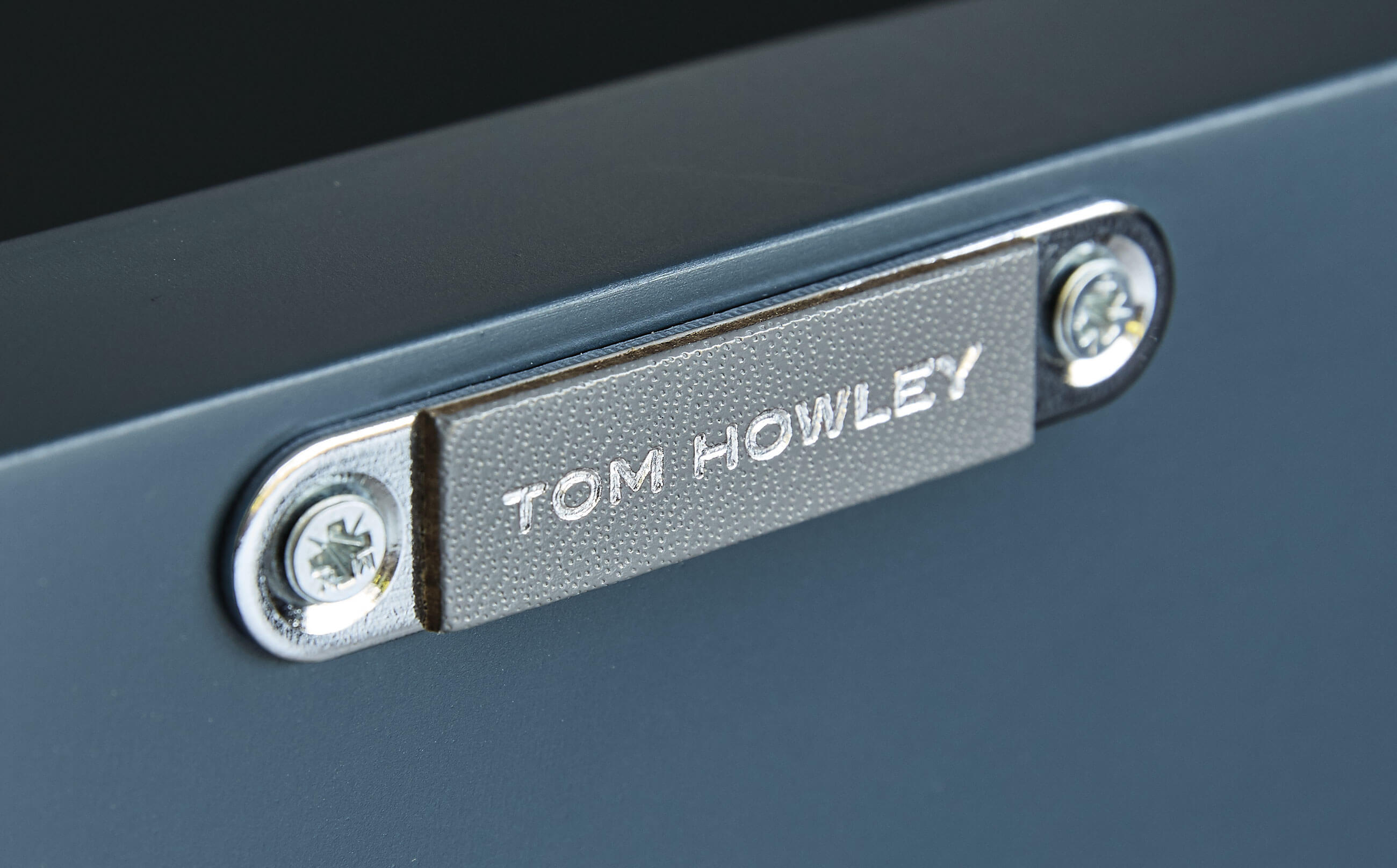 Blue Shaker Kitchen | Tom Howley