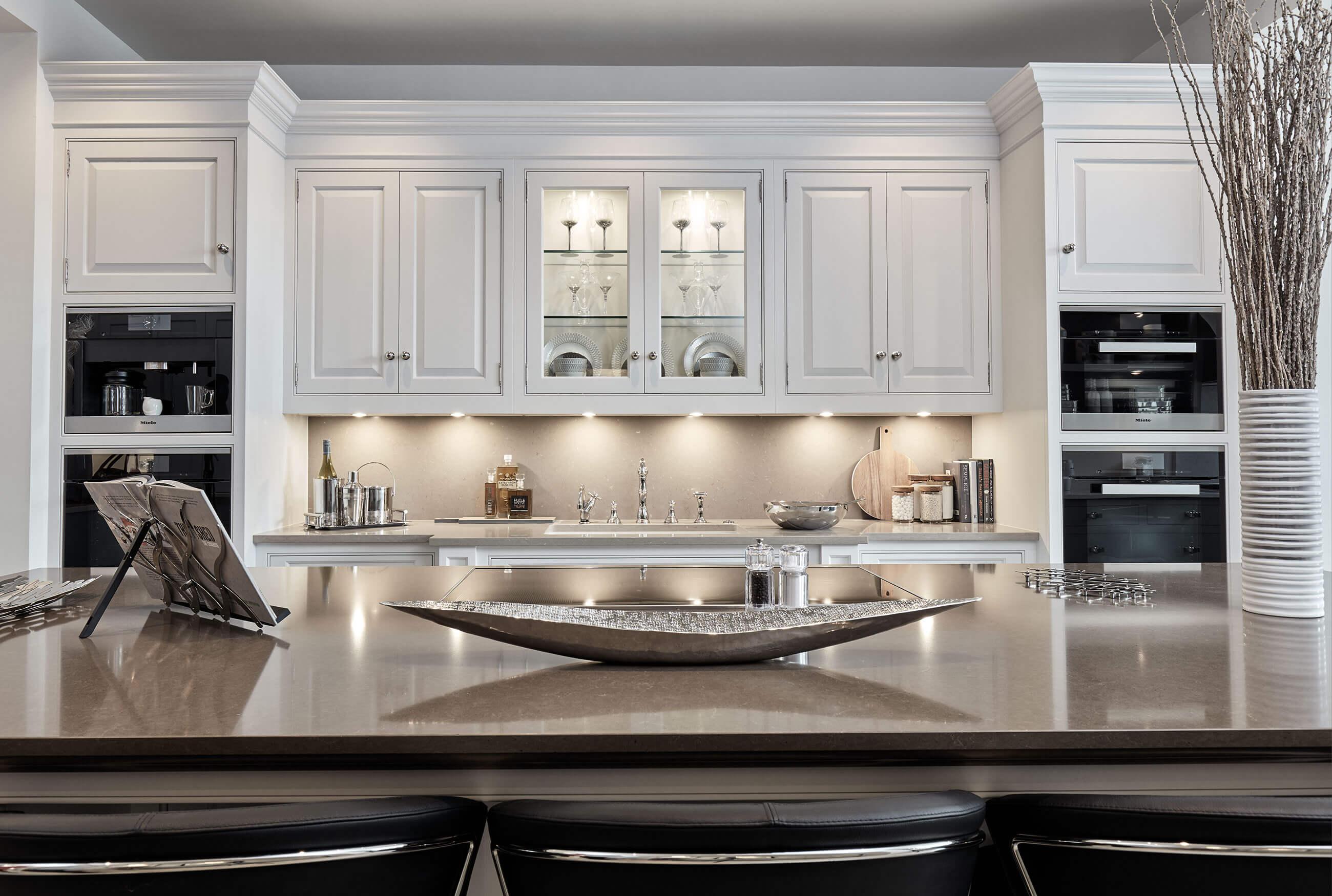 Luxurious White Kitchen Tom Howley