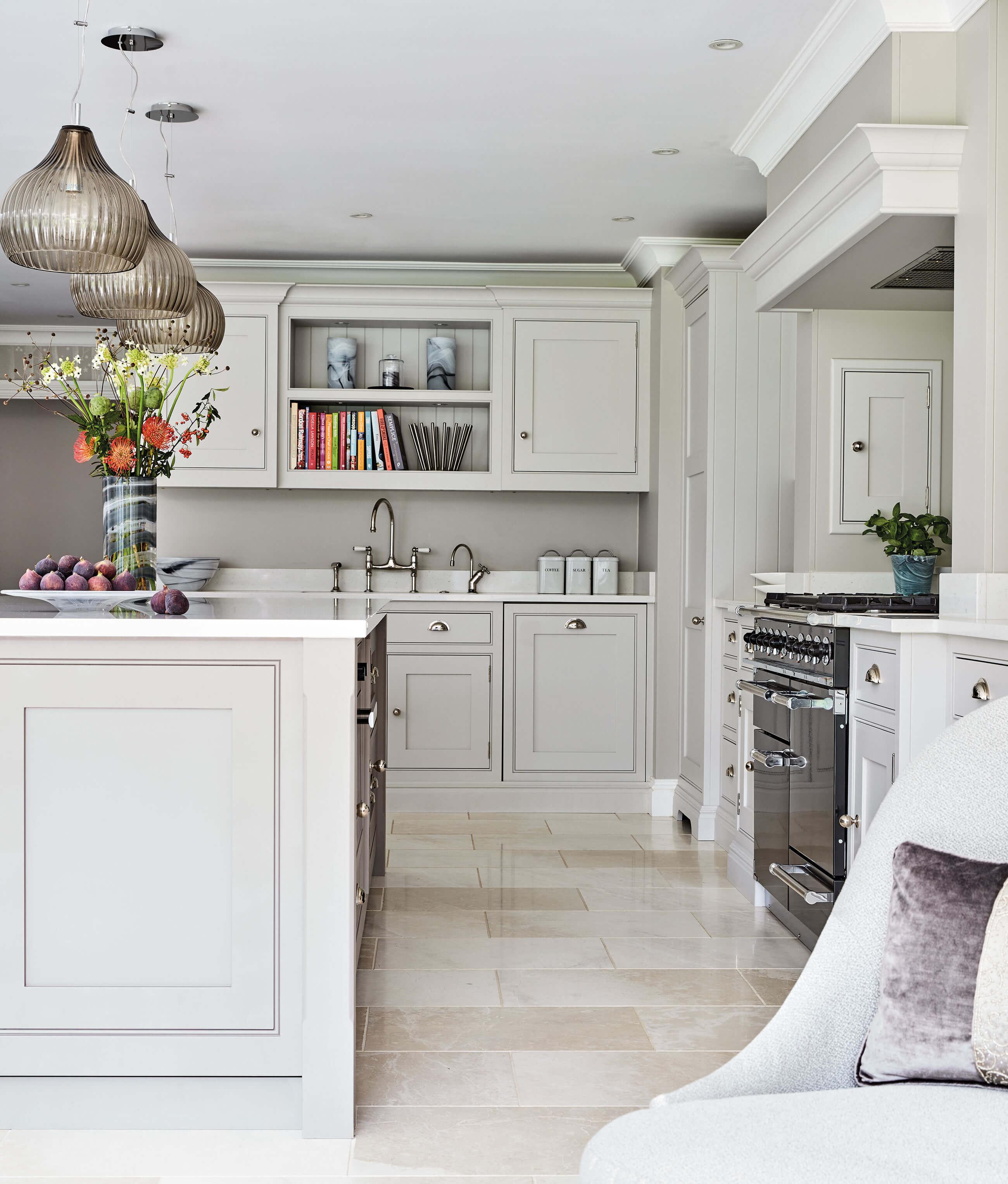 Open Plan Grey Kitchen | Tom Howley