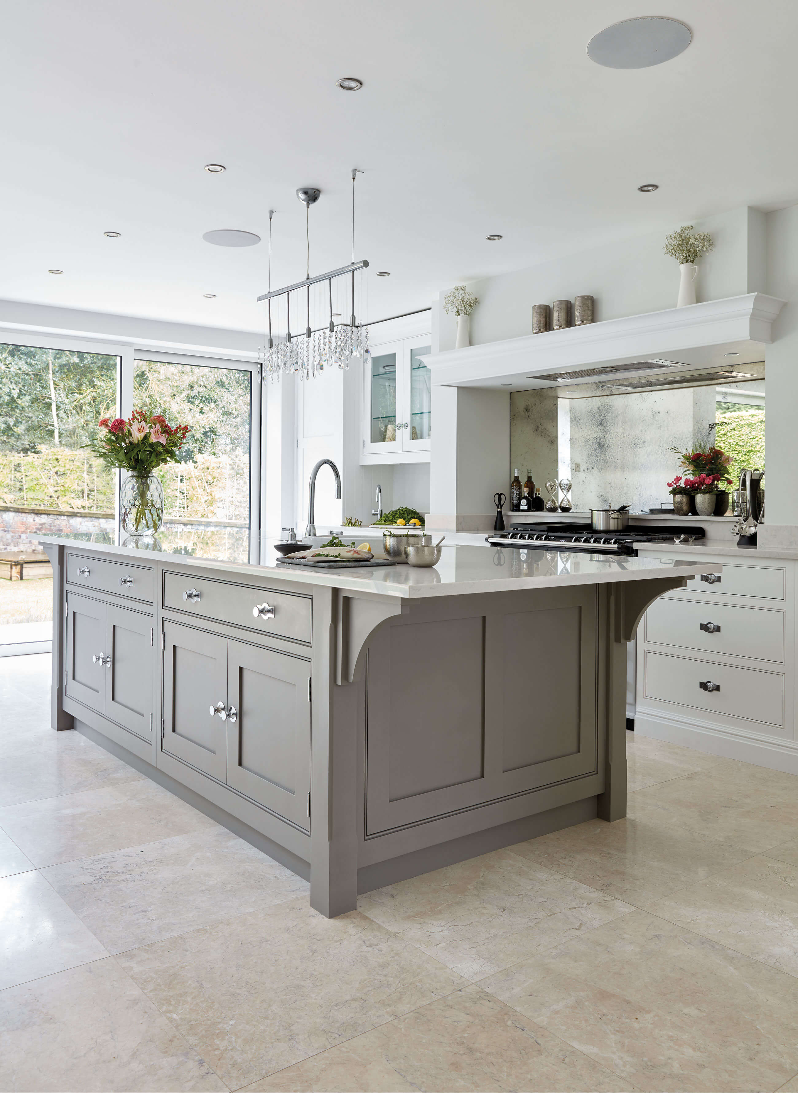 Contemporary Grey Kitchen Tom Howley