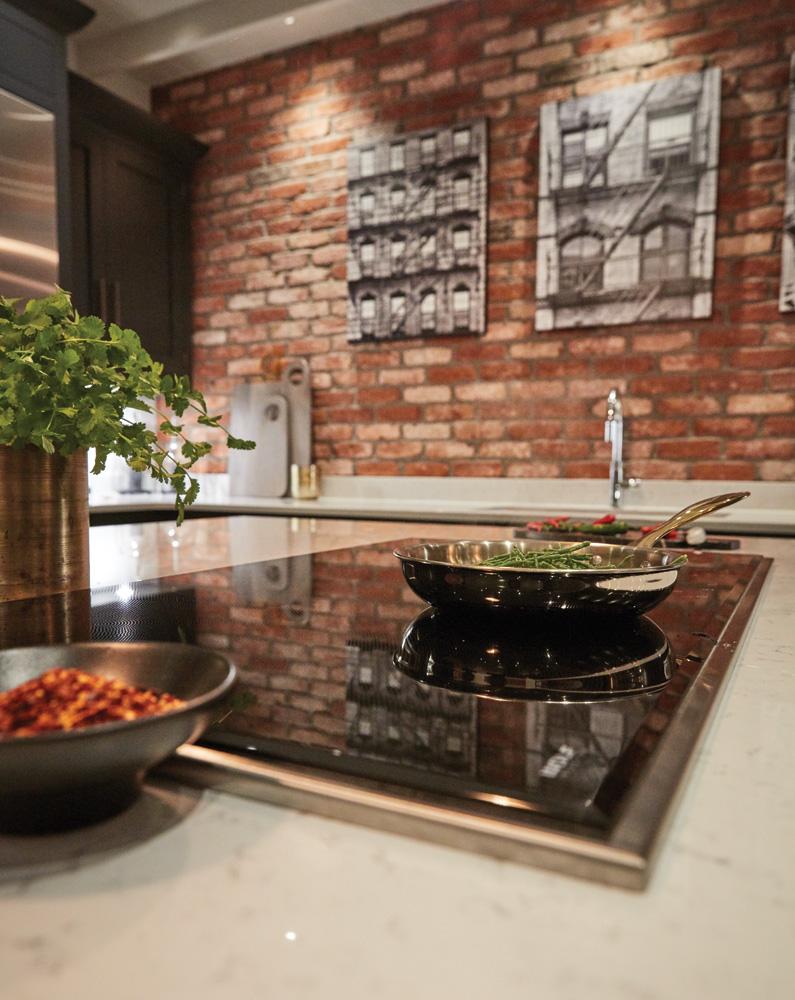 Exposed Brick Kitchen | Tom Howley