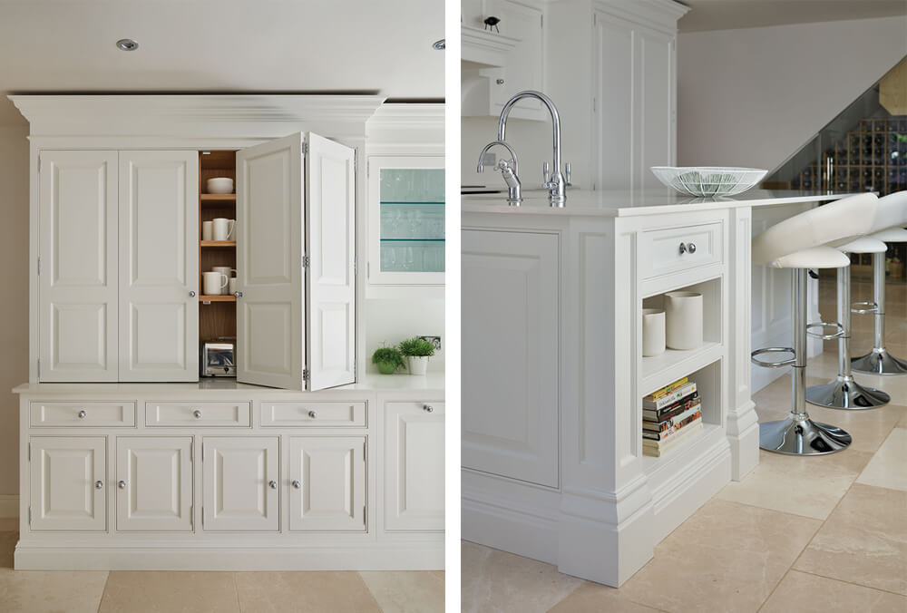 light kitchen homes and gardens
