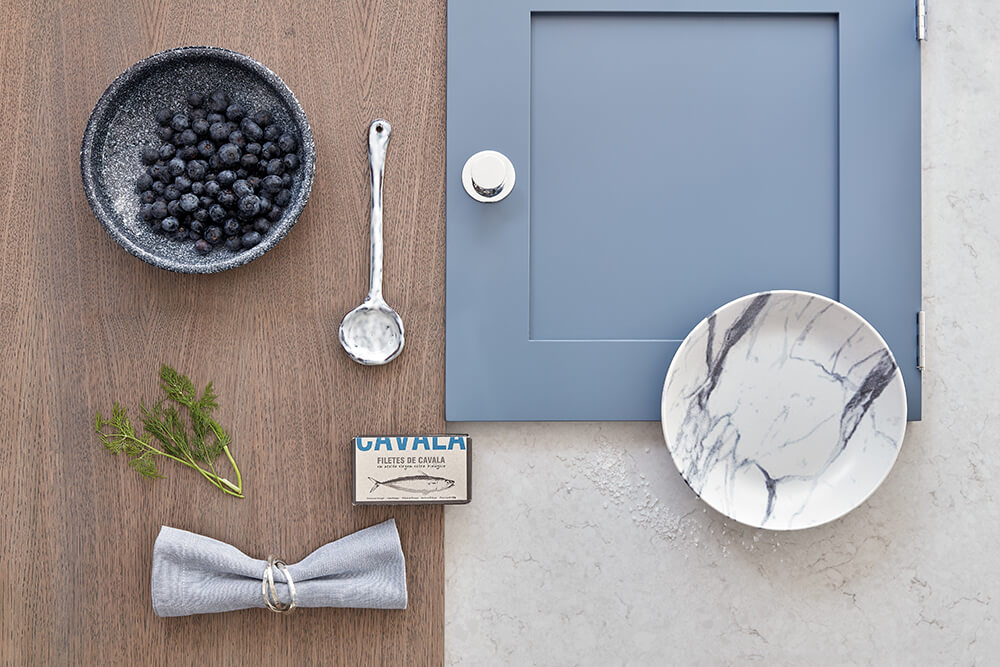 Periwinkle Blue Kitchen