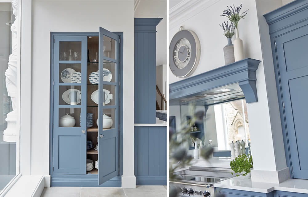 Blue Kitchen Trend