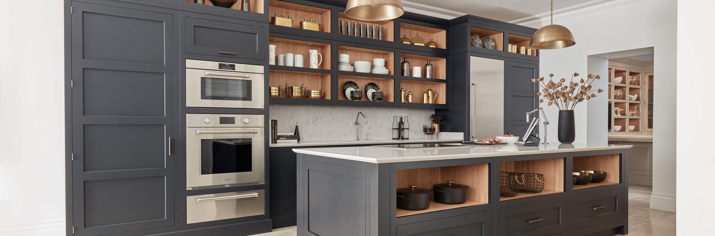 Make A Statement With Our Dark Kitchen Design Ideas