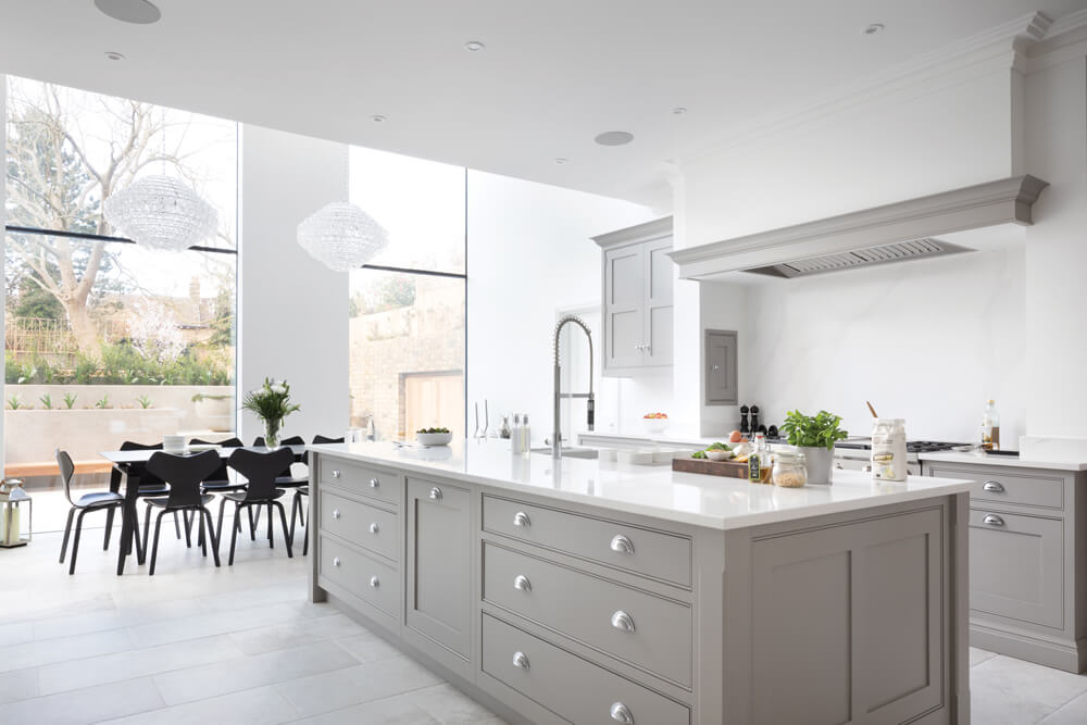 Modern Open Plan Kitchen