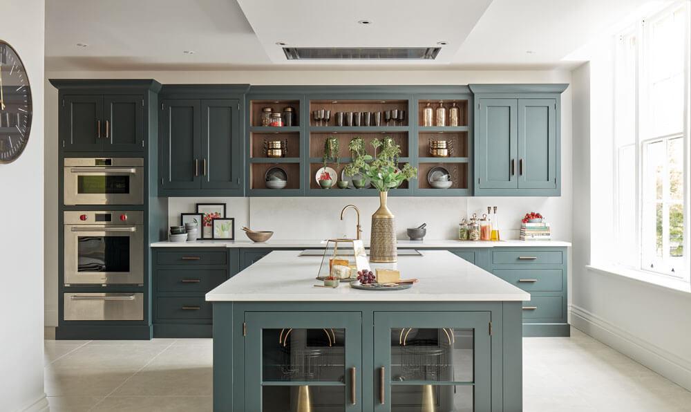 Kitchen Trends - Darke Green Kitchen
