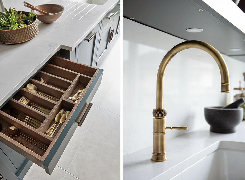 Brass Kitchen Trends