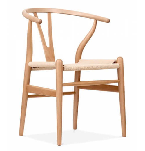 Cult Furniture Wooden Wishbone Chair