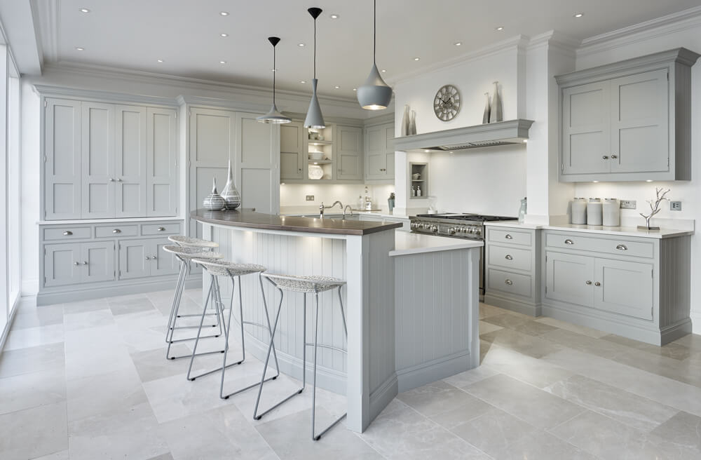 Grey Family Kitchen