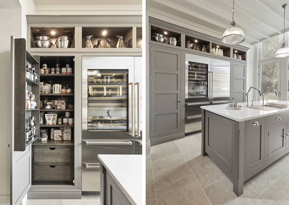 Modern Grey Butler Kitchen