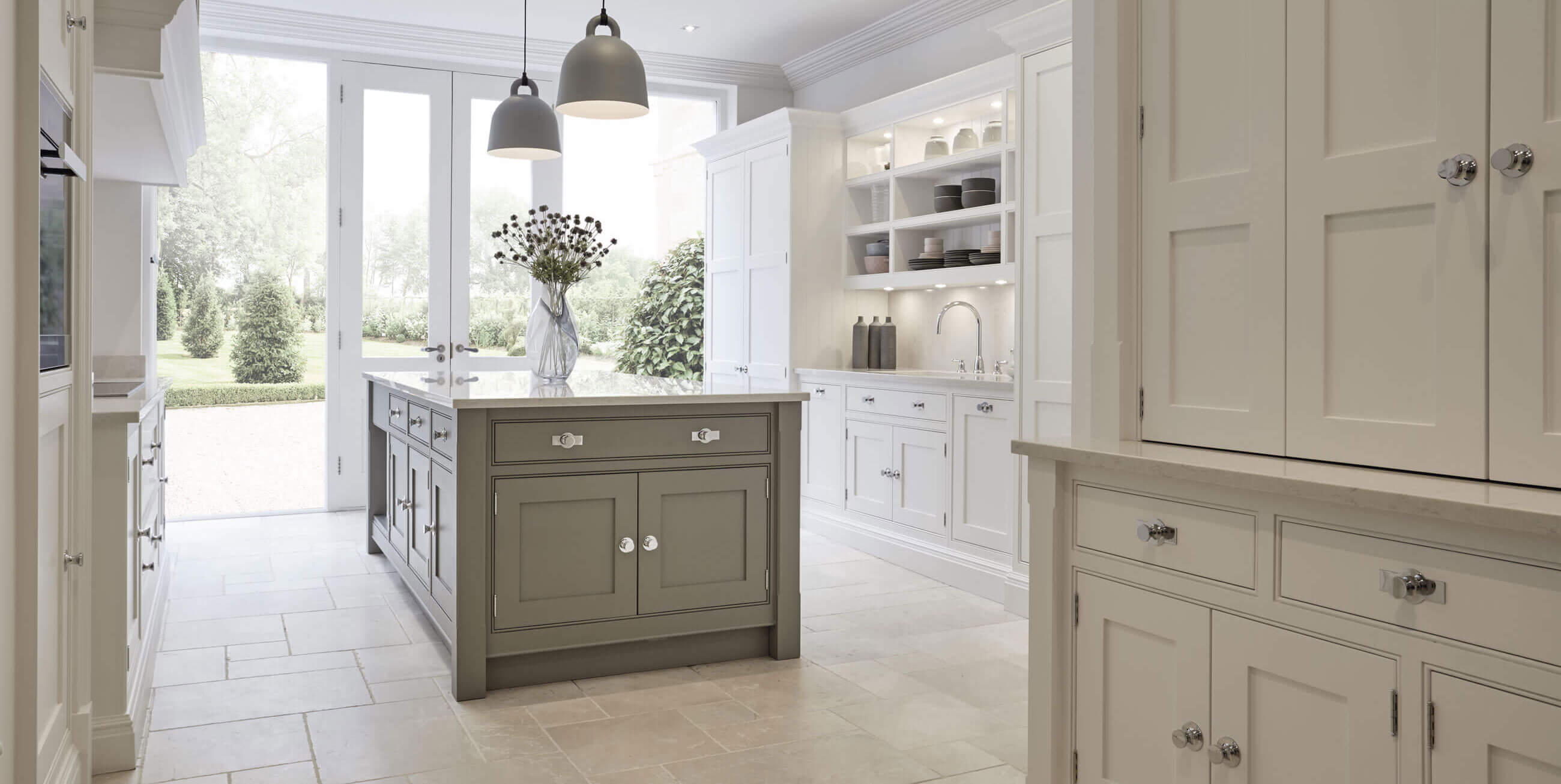 Grey Shaker Kitchen | Tom Howley