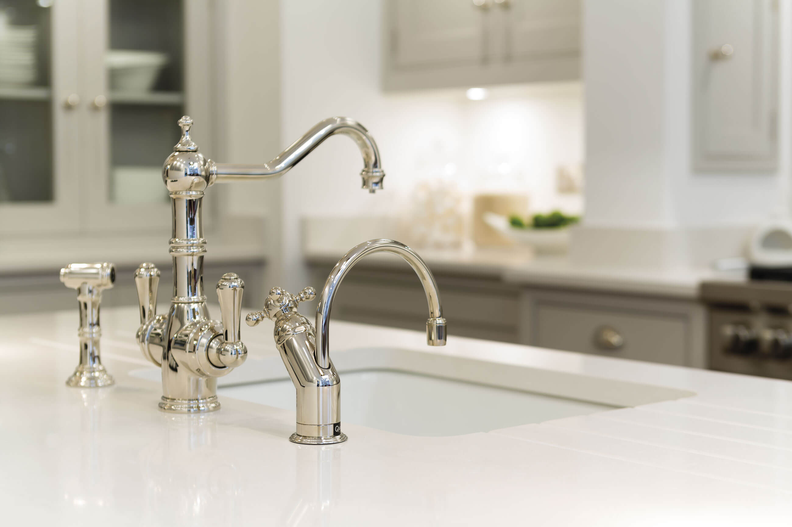 Luxury Kitchen Taps | Luxury Sinks | Tom Howley